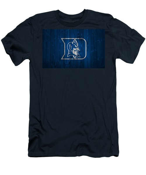 Duke Blue Devils Barn Door Men's T-Shirt (Athletic Fit)