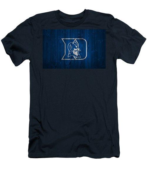 Duke Blue Devils Barn Door Men's T-Shirt (Slim Fit) by Dan Sproul