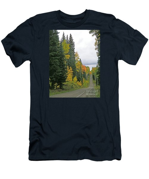 Early Fall Color Display In Colorado Men's T-Shirt (Athletic Fit)