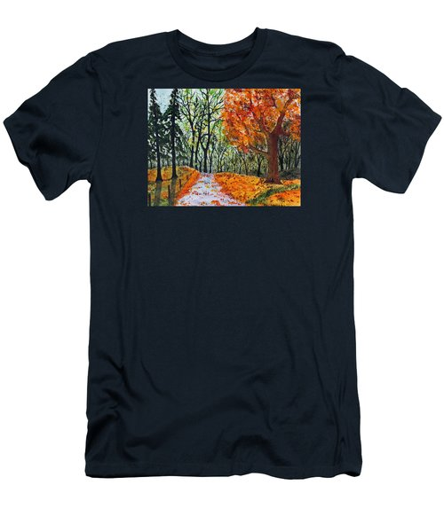 Early October Men's T-Shirt (Slim Fit) by Jack G  Brauer