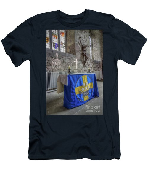 Men's T-Shirt (Slim Fit) featuring the photograph Easter  The Resurrection Of Jesus by Ian Mitchell