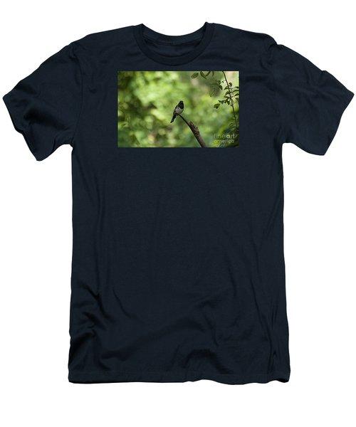 Eastern Towhee 20120707_52a Men's T-Shirt (Slim Fit) by Tina Hopkins