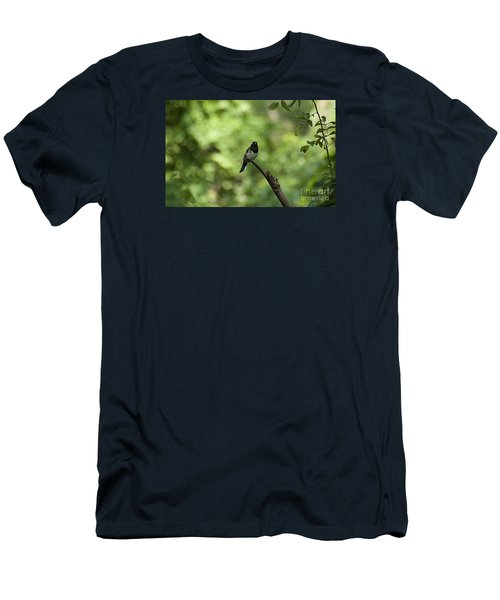 Eastern Towhee 20120707_52a Men's T-Shirt (Athletic Fit)