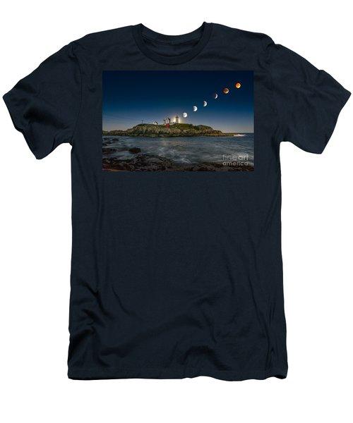 Eclipsing The Nubble Men's T-Shirt (Athletic Fit)