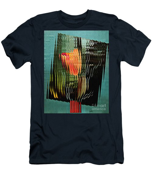 Electric Tulip 2 Men's T-Shirt (Athletic Fit)