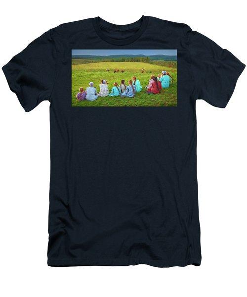 Elk Watch Men's T-Shirt (Athletic Fit)