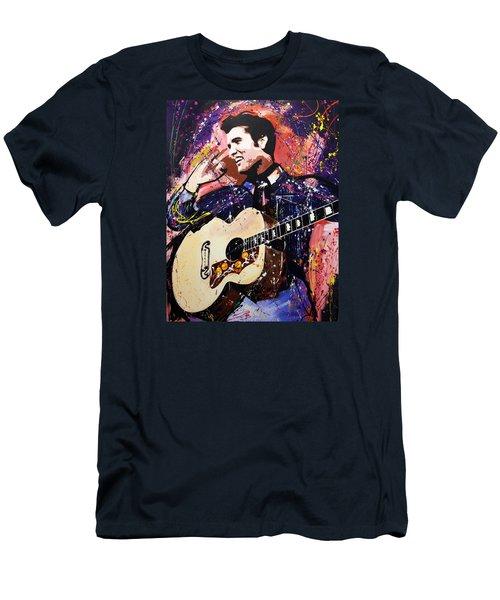 Elvis Presley Men's T-Shirt (Athletic Fit)