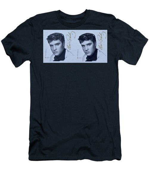 Elvis Stamps Men's T-Shirt (Athletic Fit)