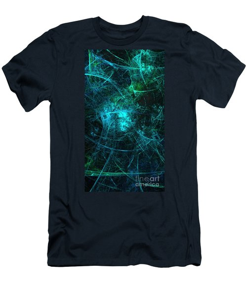 Emerald And Azure Align Men's T-Shirt (Athletic Fit)