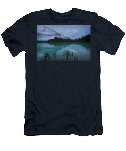 Emerald Lake Before Sunrise Men's T-Shirt (Athletic Fit)