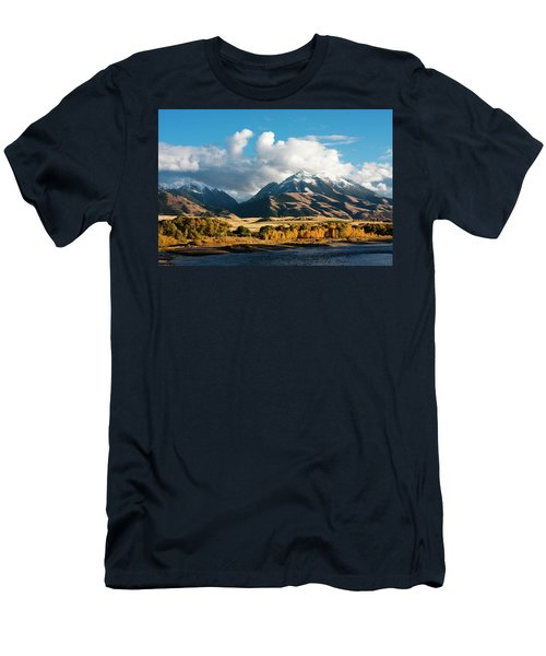 A Touch Of Paradise Men's T-Shirt (Athletic Fit)