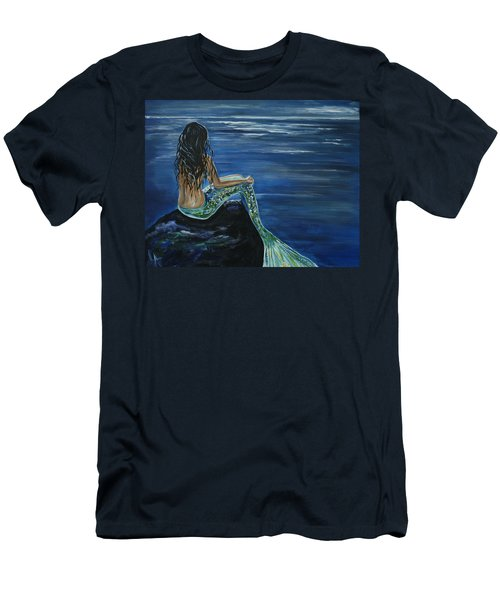 Enchanted Mermaid Men's T-Shirt (Athletic Fit)