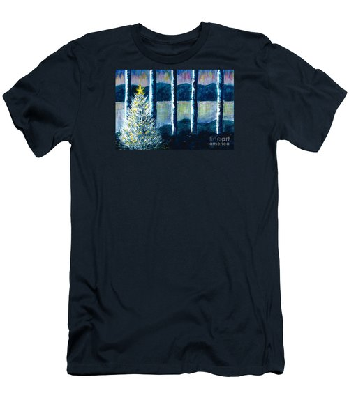 Enlightened Forest  Men's T-Shirt (Athletic Fit)