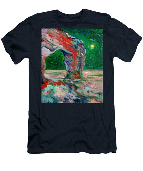 Etretat-6 Men's T-Shirt (Slim Fit) by Pierre Van Dijk