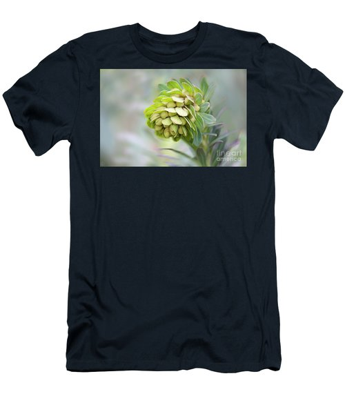 Men's T-Shirt (Athletic Fit) featuring the photograph Euphorbia by Linda Lees