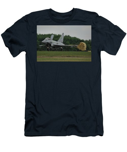 Eurofighter Typhoon Fgr4 Men's T-Shirt (Slim Fit) by Tim Beach