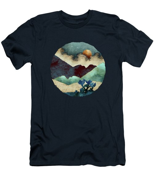 Evening Calm Men's T-Shirt (Slim Fit) by Spacefrog Designs