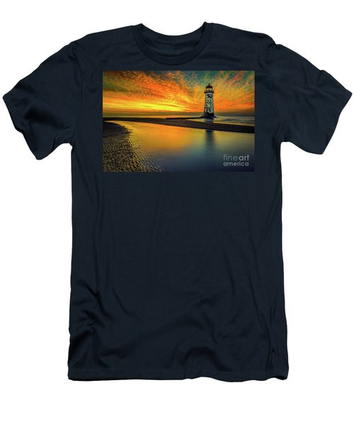 Men's T-Shirt (Slim Fit) featuring the photograph Evening Delight by Adrian Evans