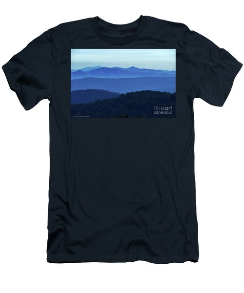 Oregon Blues  Men's T-Shirt (Athletic Fit)