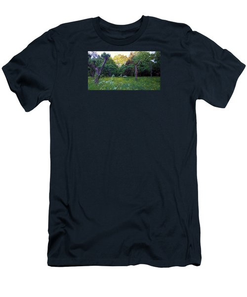 Men's T-Shirt (Athletic Fit) featuring the photograph Evening Light by Anne Kotan