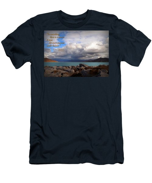 Everything Has Its Time - Ecclesiastes Men's T-Shirt (Athletic Fit)