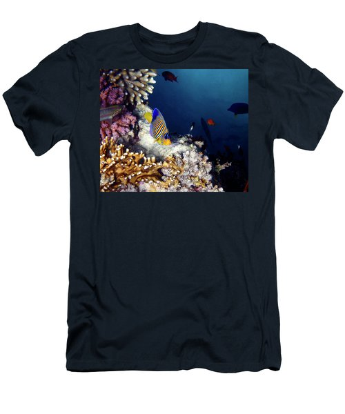 Exciting Red Sea World Men's T-Shirt (Athletic Fit)