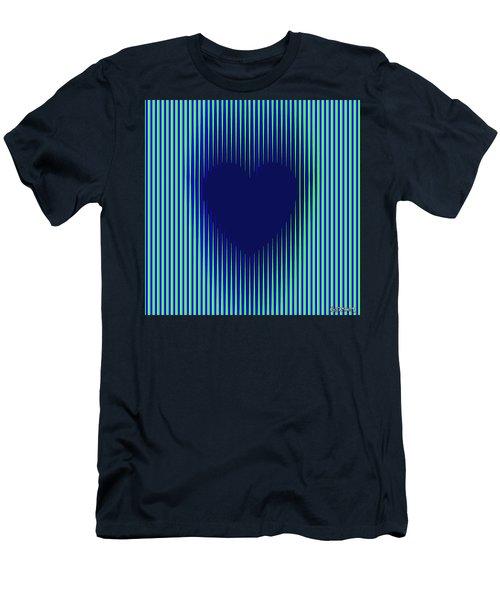Expanding Heart 2 Men's T-Shirt (Athletic Fit)