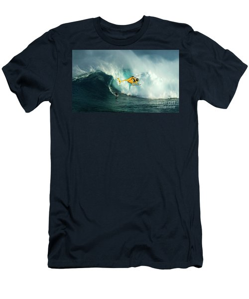 Extreme Surfing Hawaii 6 Men's T-Shirt (Athletic Fit)