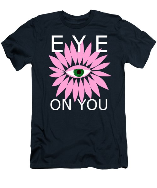 Eye On You - Black Men's T-Shirt (Athletic Fit)