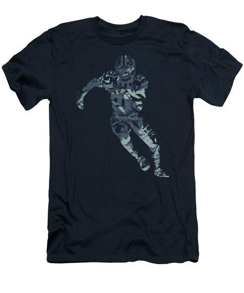Ezekiel Elliott Cowboys Pixel Art T Shirt Men's T-Shirt (Athletic Fit)
