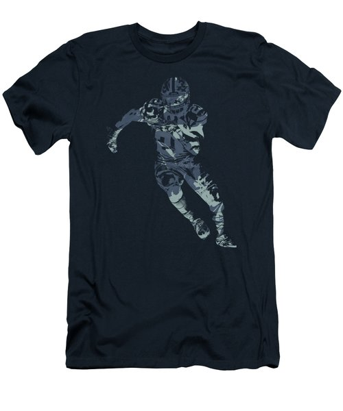 Ezekiel Elliott Cowboys Pixel Art T Shirt Men's T-Shirt (Athletic Fit)