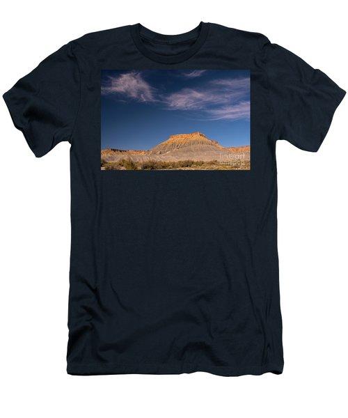 Factory Butte Utah Men's T-Shirt (Athletic Fit)