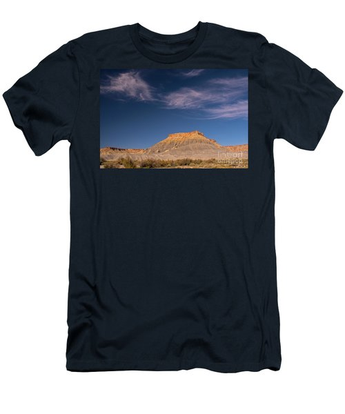 Factory Butte Utah Men's T-Shirt (Athletic Fit)