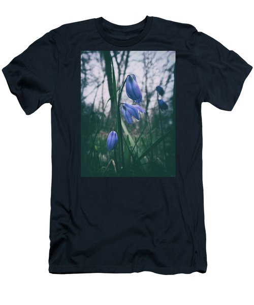 Fade Into The Blue Men's T-Shirt (Slim Fit) by Karen Stahlros