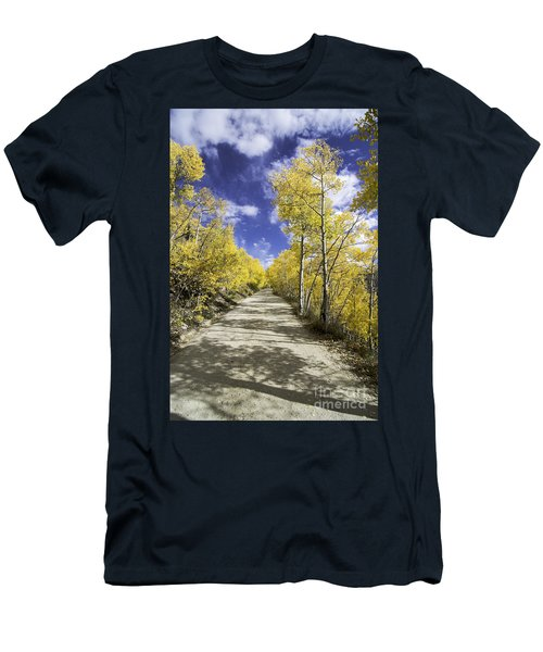 Fall On Boreas Pass Men's T-Shirt (Athletic Fit)