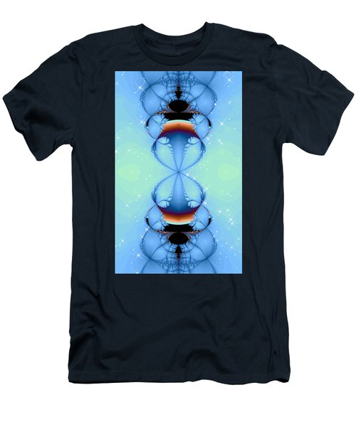 Men's T-Shirt (Slim Fit) featuring the digital art Falling Awake by Wendy J St Christopher