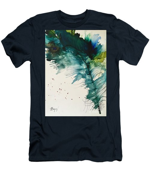 Fancy Feather Men's T-Shirt (Athletic Fit)