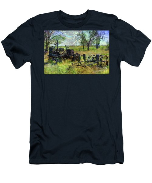 Farm Equipment Men's T-Shirt (Slim Fit) by Deborah Nakano