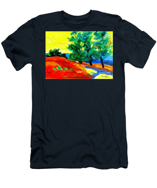 Fauvist Landscape.    Men's T-Shirt (Athletic Fit)