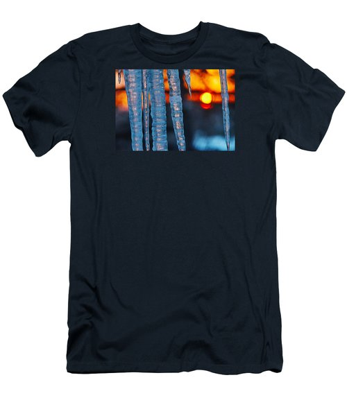February Sunrise Men's T-Shirt (Athletic Fit)