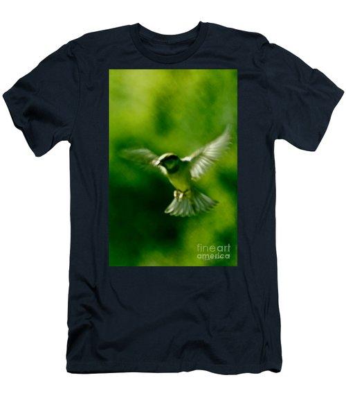 Feeling Free As A Bird Wall Art Print Men's T-Shirt (Slim Fit) by Carol F Austin