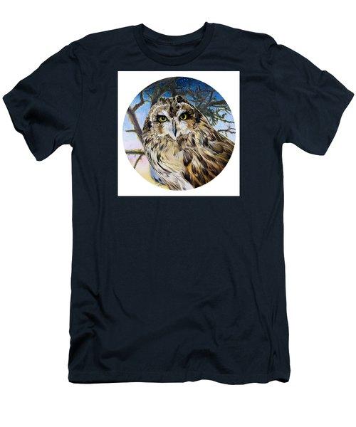 Da172 Fiery At Dusk Daniel Adams Men's T-Shirt (Athletic Fit)