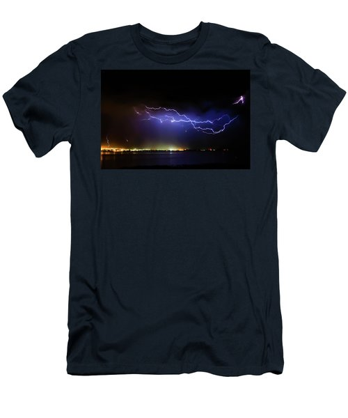 Fingers Across The Lake Men's T-Shirt (Athletic Fit)