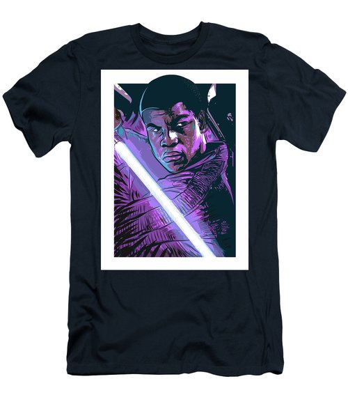 Men's T-Shirt (Athletic Fit) featuring the digital art Finn by Antonio Romero