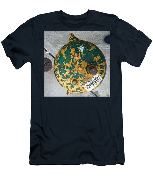 Fire Hydrant #2 Men's T-Shirt (Slim Fit) by Suzanne Lorenz