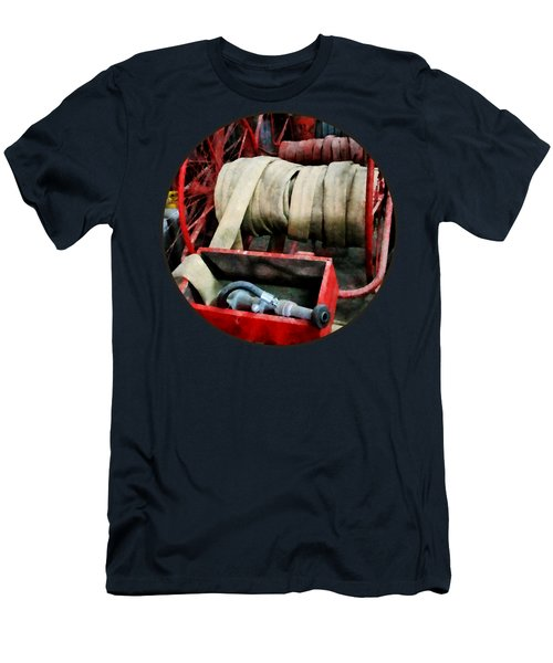Fireman - Fire Hoses Men's T-Shirt (Athletic Fit)