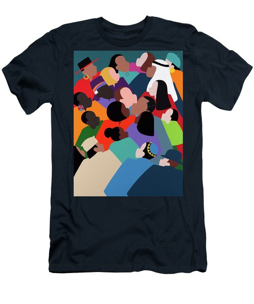 First Family The Obamas Men's T-Shirt (Athletic Fit)