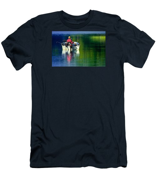 Fishing And Wishing 2 Men's T-Shirt (Slim Fit) by Brian Stevens