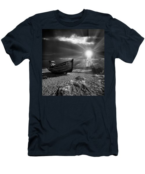 Fishing Boat Graveyard 7 Men's T-Shirt (Athletic Fit)