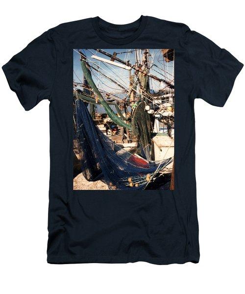 Fishing Nets Men's T-Shirt (Athletic Fit)